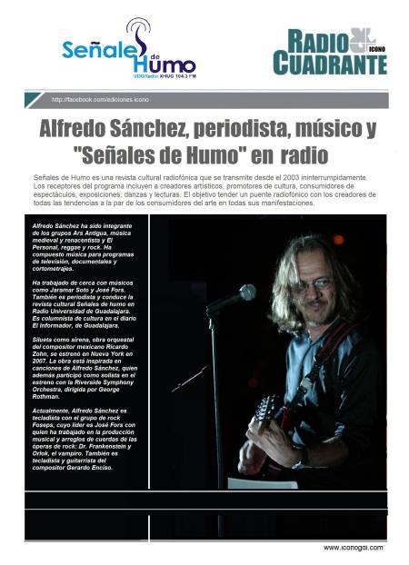 Alfredo Sánchez SEÑALES DE HUMO