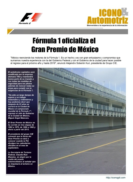 Fórmula 1 México 2015