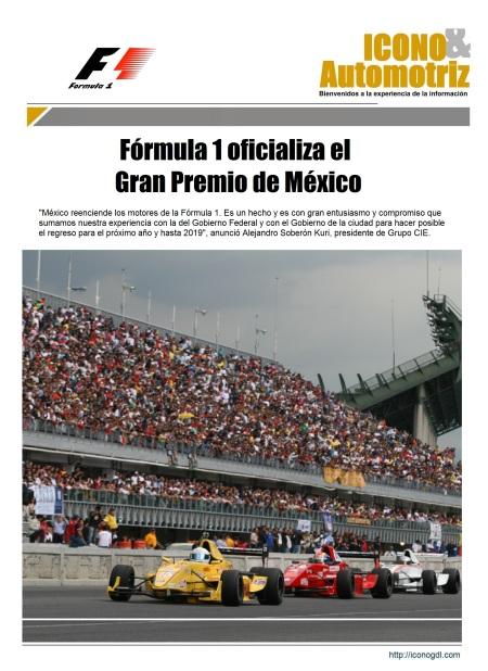 Fórmula UNO México 2015