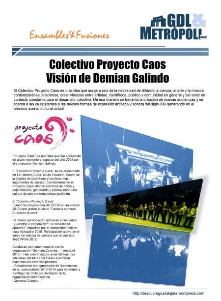 Proyecto COLECTIVO CAOS