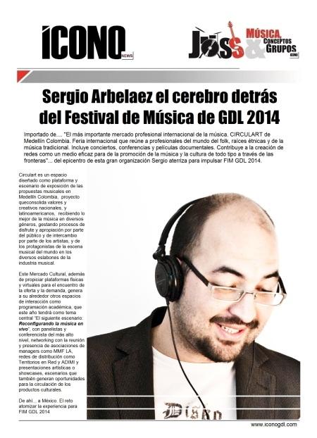 Sergio Arbelaez FIM GDL 2014
