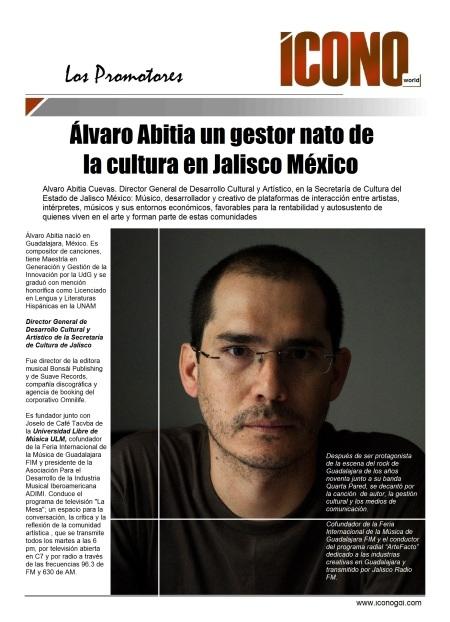 Alvaro Abitia Por la Cultura de Jalisco