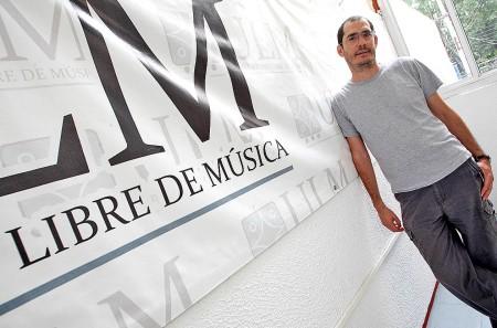 Alvaro Abitia director de la Universidad Libre de Musica