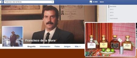 Francisco G. de Mora Tequila HACIENDA EL LLANO Contacto