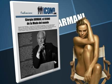 Armani en nuestro fanpage