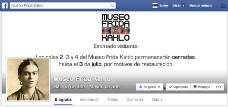 Bienvenidos al Facebook del Museo Frida Kahlo
