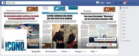 ICONO en Redes Sociales