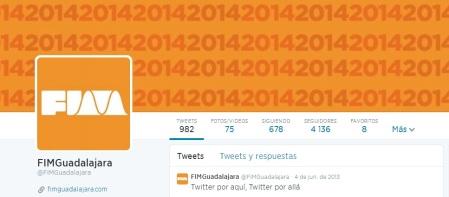 FIM Guadalajara 2014 en Twitter