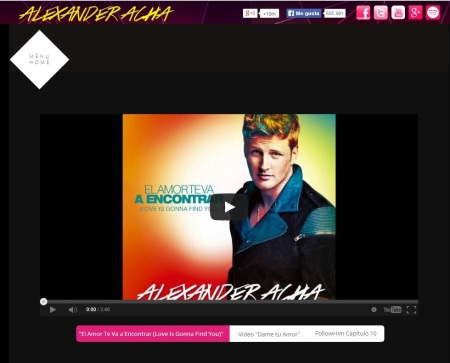 Alexander Acha WEBSITE