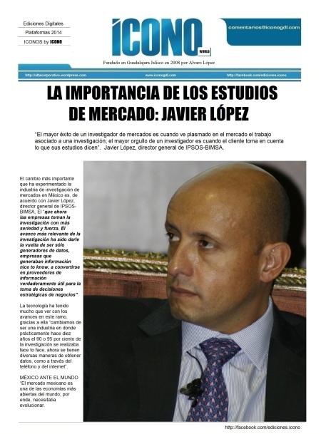 Javier López Pérez IPSOS-BIMSA