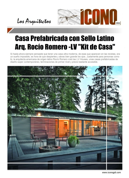 Arq. Rocio Romero LV Chile