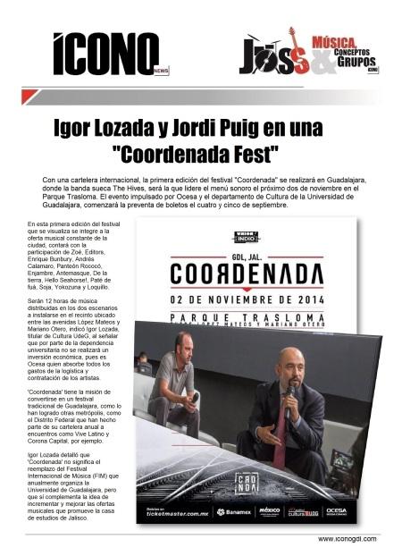 Jordi Puig e Igor Lozada