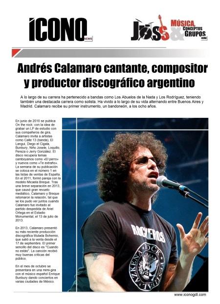 09 03 2014 Joss Calamaro