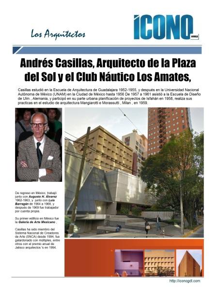 Arq. Andrés Casillas de Alba