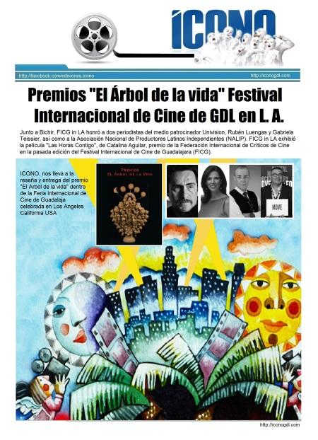 Arbol de la Vida en FICG L.A. 2014