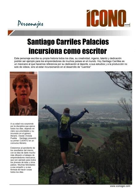 Santiago Carriles Palacios