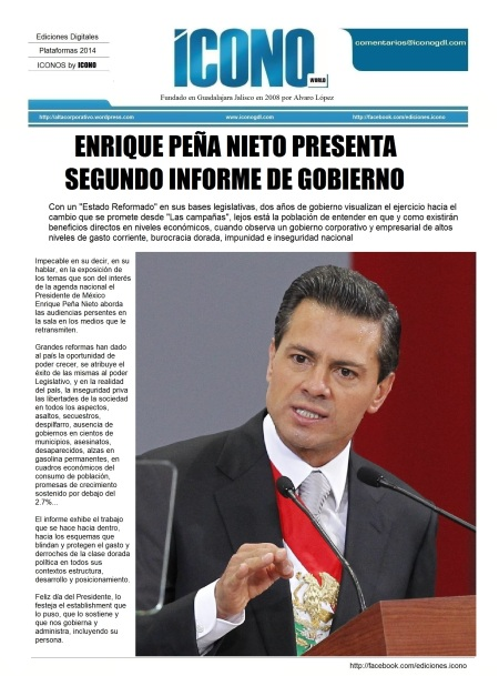 2do Informe del Presidente Enrique Peña Nieto
