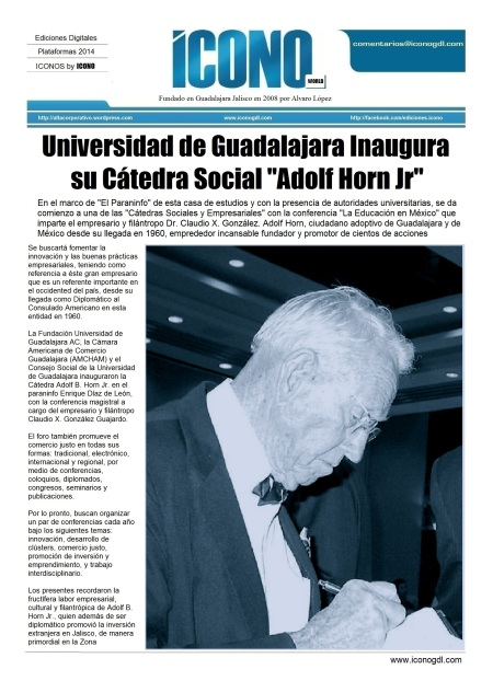Cátedra Universitaria Adolf Horn