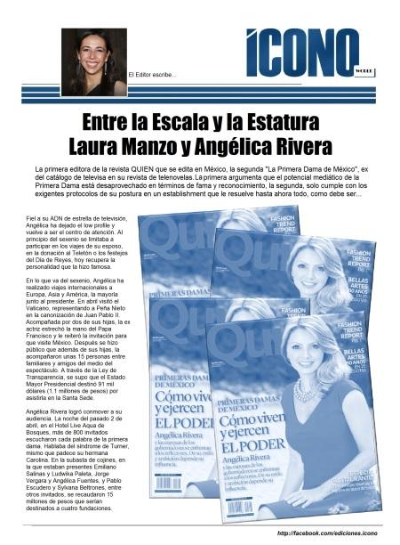 """Laura Manzo """"Editora de QUIEN"""""""