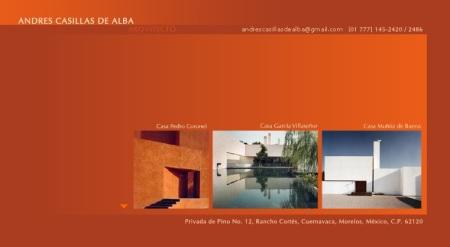 Andrés Casillas de Alba Website