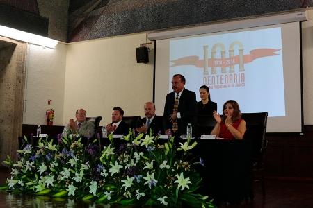 Panel Inaugural Funcionarios SEMS