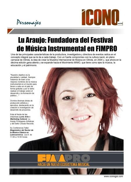10 03 2014 FIMPRO Lu Araujo