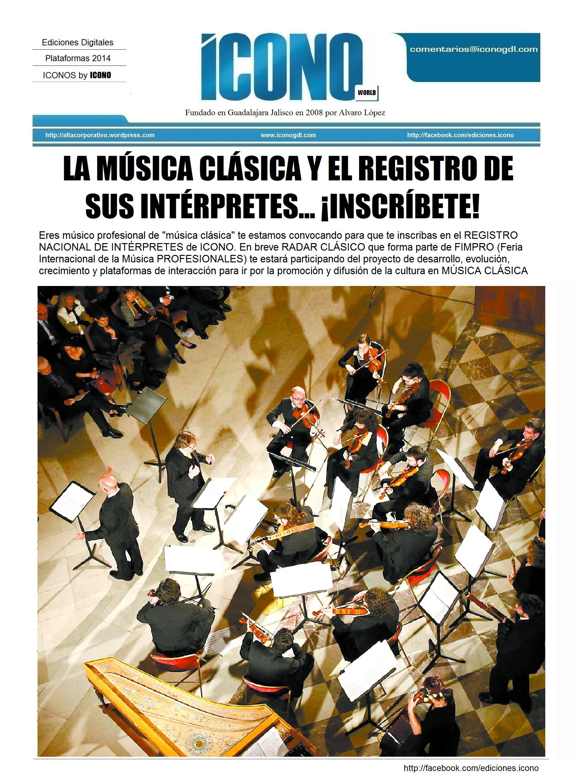 M sicos de m sica cl sica hemeroteca indice by icono for Musica clasica para entrenar