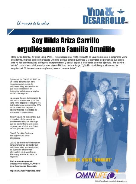 10 06 2014 omnilife Hilda Ariza
