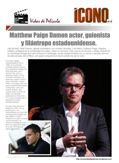 Mat Damon