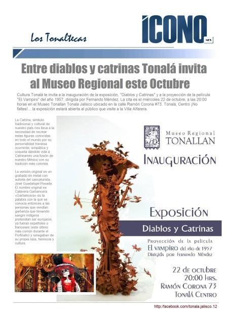 Las Catrinas y Los Diablos de Tonalá 2014