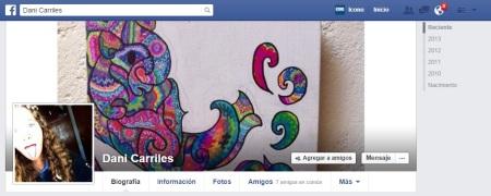 Daniela Carriles FACEBOOK