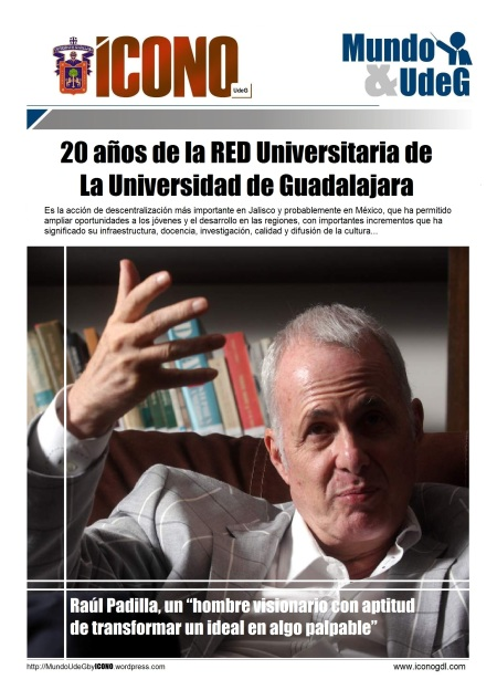 Raul Padilla y la Red Universitaria