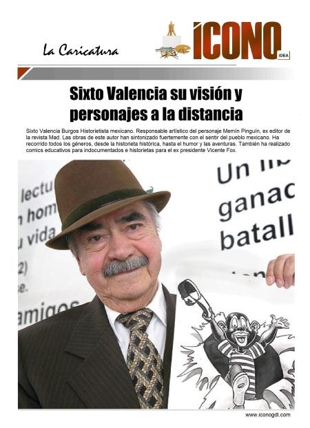Sixto Valencia CARICATURISTA
