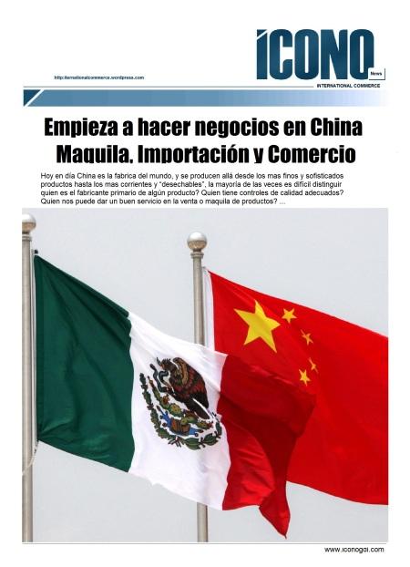 Negocios CHINA MEXICO