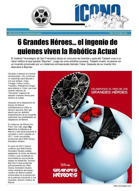 Los Robotikos de Disney