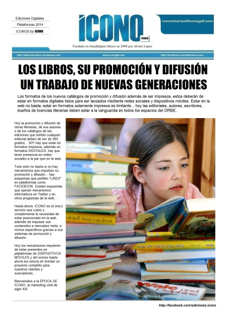 La Promoción y Difusión de los Libros