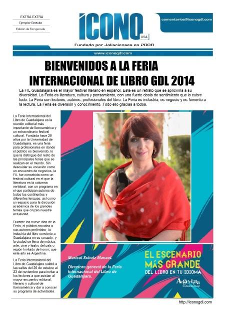 Bienvenidos a la FIL 2014
