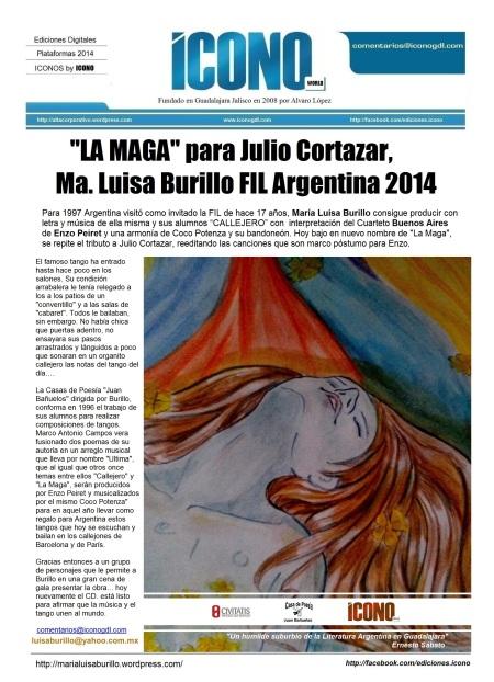 La Maga... María Luisa Burillo