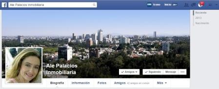 Redes Sociales e Inventario de LIC. ALEJANDRA PALACIOS (33) 11412-7087