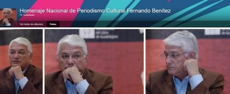 Virgilio Caballero Premio Fernando Benitez