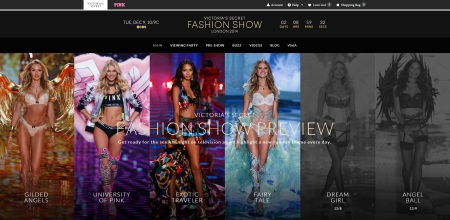The Victoria´s Secrets Official Website