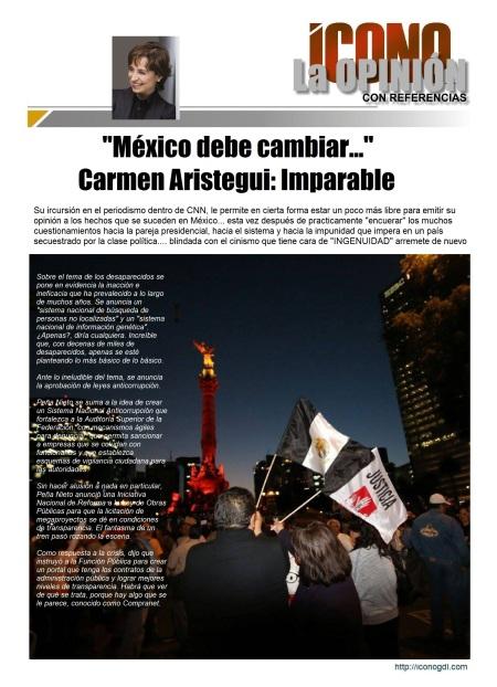 México debe cambiar...