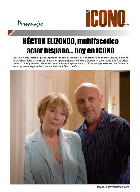 Héctor Elizondo  y Shirley McClain