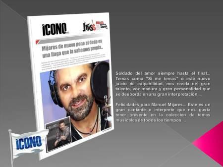 Manuel Mijares desde ICONO FANPAGE