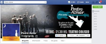 Pedro Aznar facebook