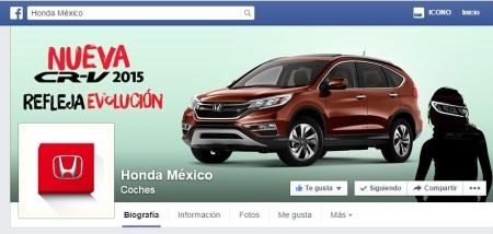 Vertice HONDA facebook