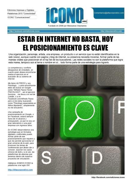 Posicionamiento en la WEB