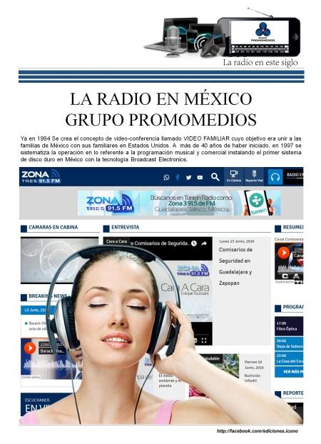 06 13 2016 La Radio en México PROMOMEDIOS2