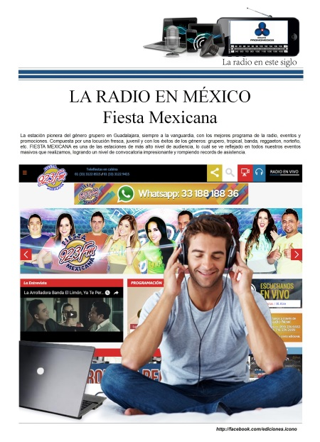 06 13 2016 La Radio en México PROMOMEDIOS4